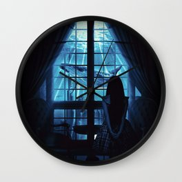 Nightly Visit Wall Clock