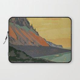 Five Islands Provincial Park Poster Laptop Sleeve