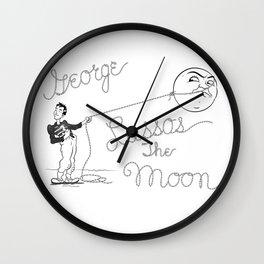 It's a Wonderful Life - George Lassos the Moon Wall Clock