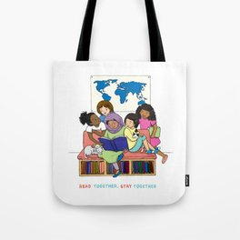 Read Together Stay Together Tote Bag