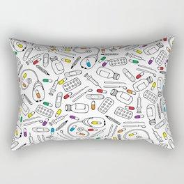 Hospital Pattern Rectangular Pillow