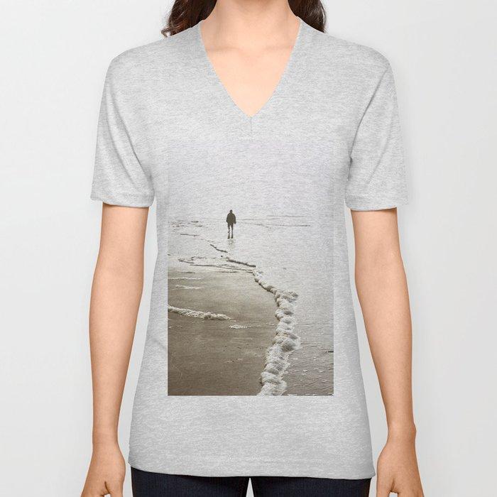Dreamy Beach Unisex V-Neck