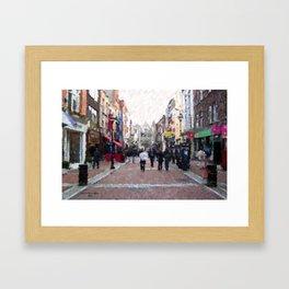 Grafton Street Framed Art Print