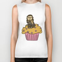 thorin Biker Tanks featuring Thorin & the Muffin by The Psychowl