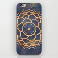 Hippie Mandala Chakra -  Galaxy Stars Space Crown Chakra Design iPhone & iPod Skin