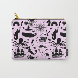 High Seas Adventure // Pink Carry-All Pouch