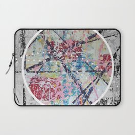 Crossroads No.3 - black and white Laptop Sleeve