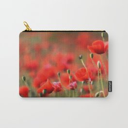 Mohnblumenwiese Carry-All Pouch