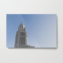 LeVeque Tower Metal Print