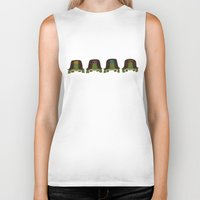 teenage mutant ninja turtles Biker Tanks featuring teenage mutant ninja turtles by C.t. Chain
