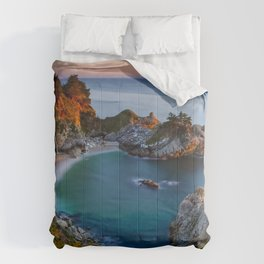 Photo California USA Julia Pfeiffer Burns State Pa Comforters