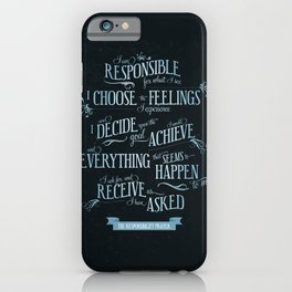 The Responsibility Prayer iPhone Case