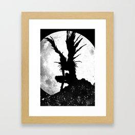 Death Note Ryuk Anime Manga Framed Art Print