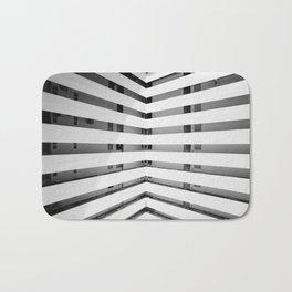 Folded Lines Bath Mat