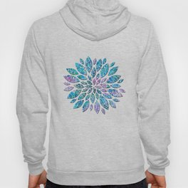Floral Abstract 33 Hoody
