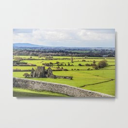Travel to Ireland: Rock of Cashel Outlook Metal Print