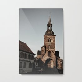 Sankt Arnual Church Metal Print