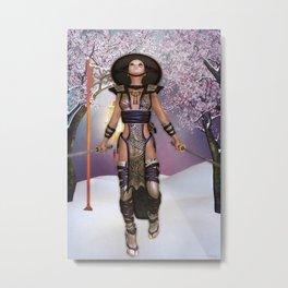 Yoshiko 1 Metal Print