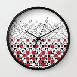 worn off Wall Clock