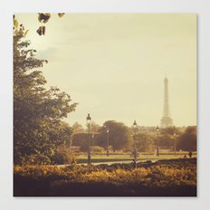 Springtime in Paris Canvas Print