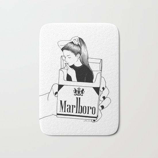 Smoke Bath Mat