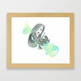 I dream of the sea Framed Art Print