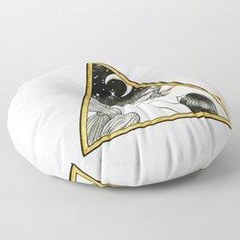 Desert Sightings Floor Pillow