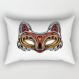 Fox Mask Rectangular Pillow