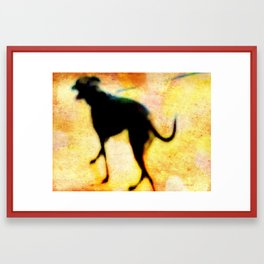 Walk This Way Framed Art Print