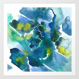 Farben Art Print