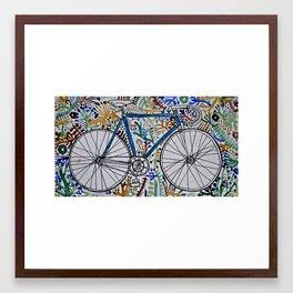 dv. Framed Art Print