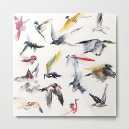 Free birds Metal Print