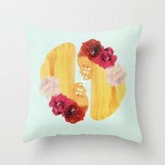 selene and eos Throw Pillow