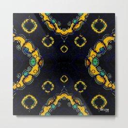 Turkish Pattern Metal Print