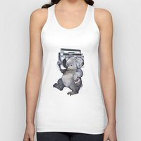 koala Tank Tops featuring koala  by Laura Graves