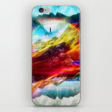 The girl from the Liquid World iPhone Skin