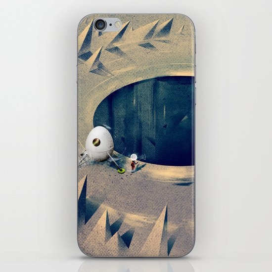 "Lunarize ""Big Hole"" Print iPhone Skin"