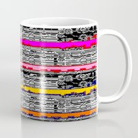 data Mugs featuring DATA by lucborell