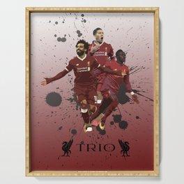 Liverpool trio attack Serving Tray