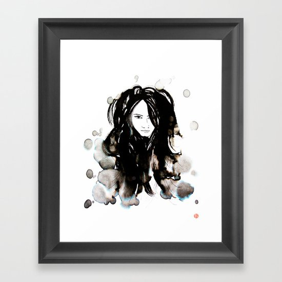 Night Creatures No.3 Framed Art Print