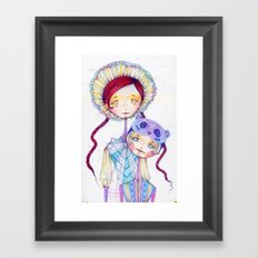 Version I Framed Art Print