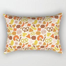 Snacks Rectangular Pillow
