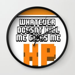 Whatever-doesn't-kill-me Wall Clock