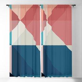 Geometric 1703 Blackout Curtain