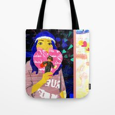 Cupid Waiting List Tote Bag