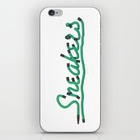 sneakers iPhone & iPod Skins featuring Sneakers by CREAM