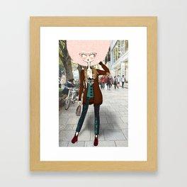 Gitta x. Framed Art Print