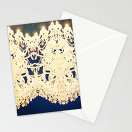 Double Chandelier Stationery Cards