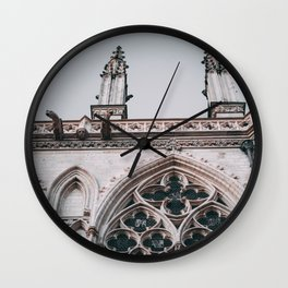 Amiens Cathedral France Wall Clock