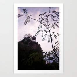 Parc des Buttes Chaumont - in Paris, France Art Print